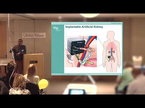 Dr Shuvo Roy and the Implantable Artificial Kidney