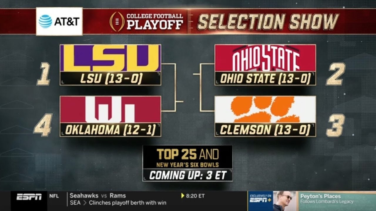 Five College Football Playoff questions that need answers after first ...