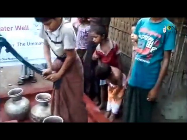 The Gift of Water in Burma, On Behalf of the Ummah - March 2017