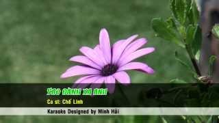 Karaoke - Sao danh xa anh - Che Linh