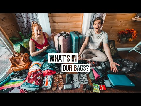 What's in Our Suitcase After 5 YEARS of Full-time Travel?? – Packing Guide