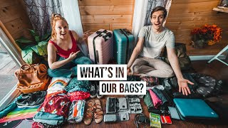 What's in Our Suitcase After 5 YEARS of Full-time Travel?? - Packing Guide