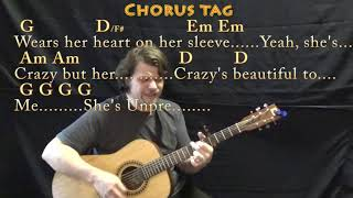 Beautiful Crazy (Luke Combs) Guitar Cover with Chords/Lyrics - Capo 4th Video