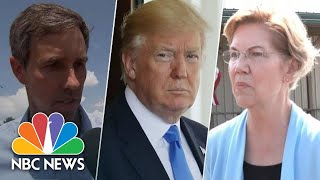 2020 Candidates Call Out President Donald Trump As White Supremacist, Nationalist | NBC News