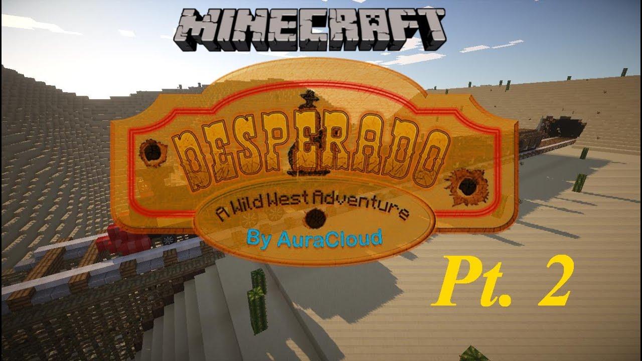 The Great Train Robbery Desperado Minecraft Pt YouTube - Minecraft desperado hauser