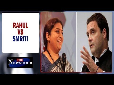 Smriti Irani in an exclusive conversation   The Newshour Debate (3rd Jan)