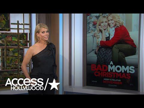 'Bad Moms Christmas': Cheryl Hines Talks Hanging Out with Susan Sarandon & Christine Baranski
