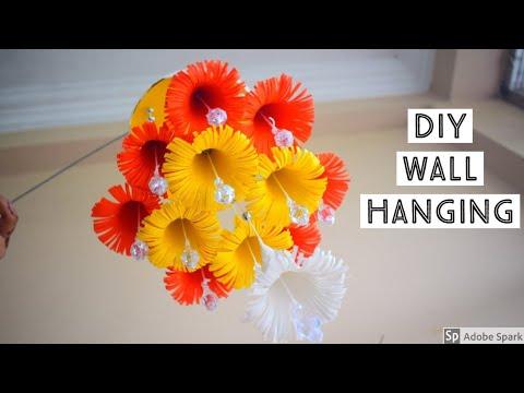 Wall hanging craft ideas // DIY wind chime // Wind chime craft ideas |parulpawar