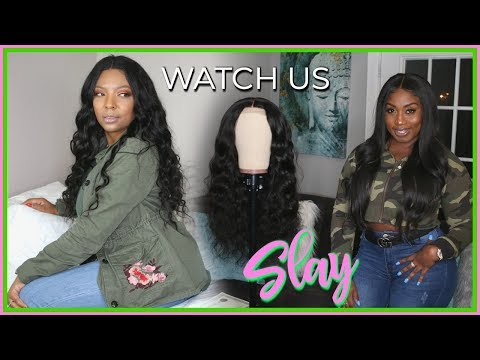 WATCH US INSTALL MY CYNOSURE BODY WAVE LACE CLOSURE WIG