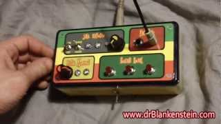 Dub Siren / Rasta Reggae Circuit Bent Analog Synth / FX Box w/ iPod, Guitar, Mic Input !