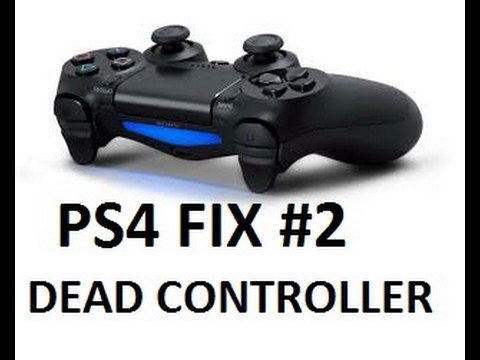 HOW TO FIX A DEAD PS4 CONTROLLER WON'T CHARGE SOLUTION EASY NOT RESETTING REMOTE SONY STOPPED
