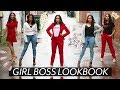 STYLISH GIRL BOSS OUTFIT IDEAS // WORK OUTFITS LOOKBOOK ♡