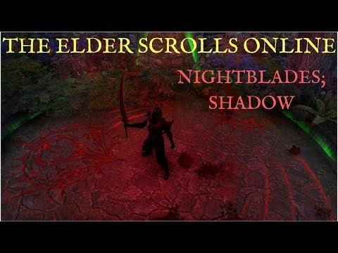 The Elder Scrolls Online Let's Talk; Shadow (Nightblade Skill Tree)