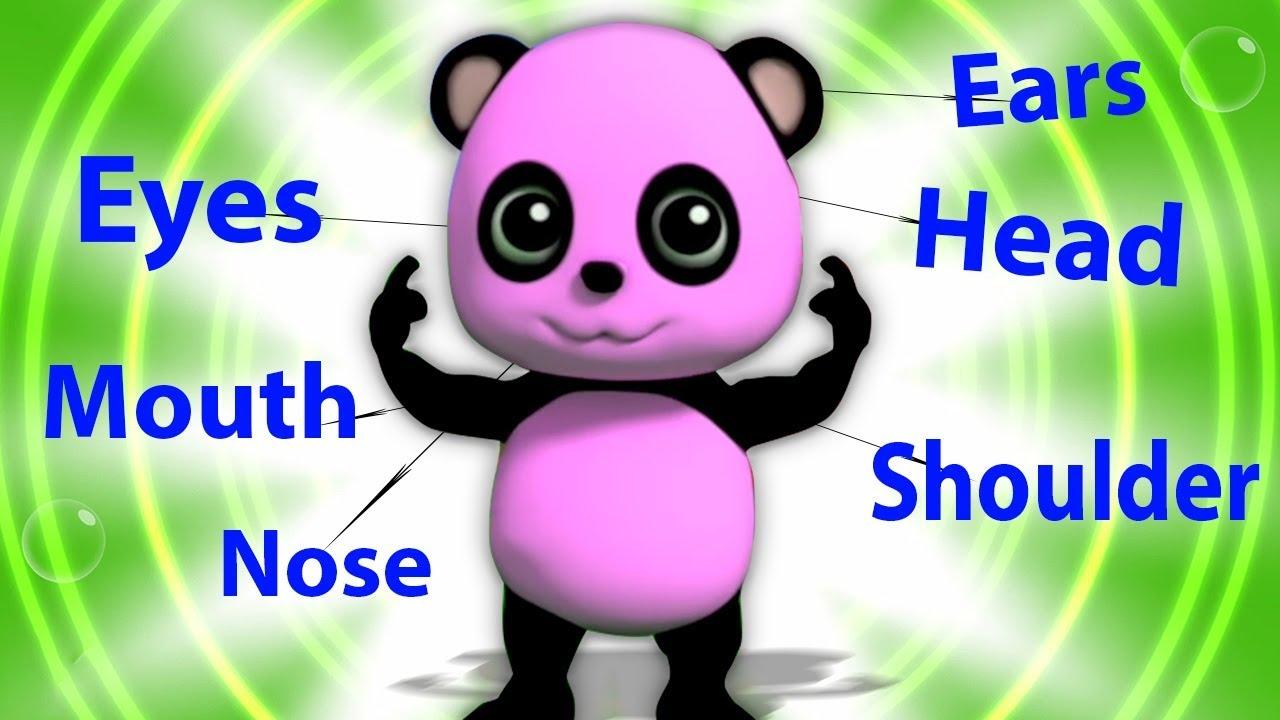 baby bao panda | kepala bahu lutut | Video anak-anak | Head Shoulders Knees | Learn Body Parts