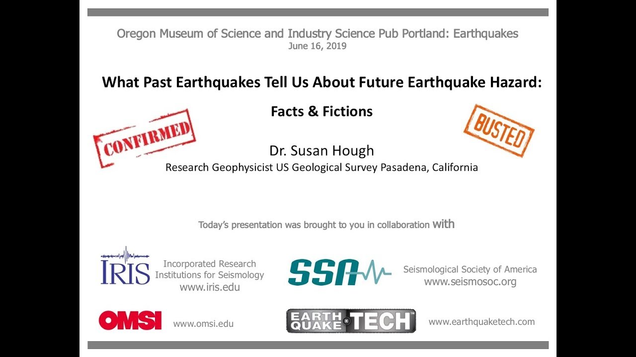What Past Earthquakes Tell Us About Future Earthquake Hazard: Facts &  Fictions
