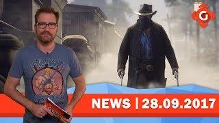 Red Dead Redemption 2: Neues zum Rockstar-Hammer! PS Plus & Games with Gold im Oktober| GW-NEWS