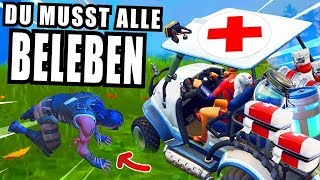 heldenhafte KRANKENWAGEN CHALLENGE in Fortnite Battle Royale