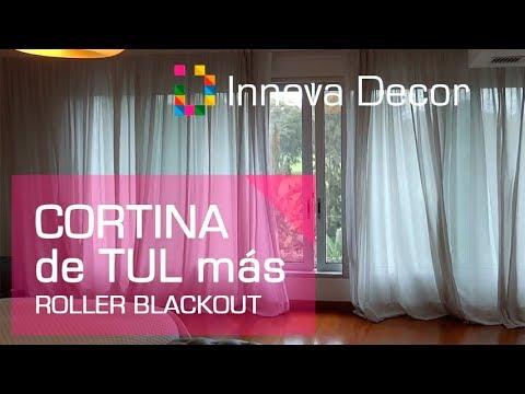 Cortinas Para Dormitorios Modernos 2018 Cortinas Dobles De Tul Y - Cortinas-para-habitaciones-modernas