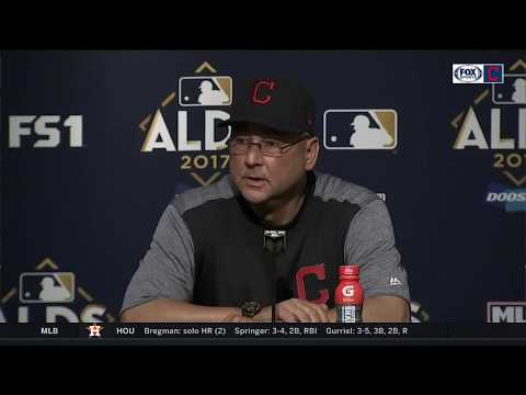 Terry Francona post-game | Indians vs. Yankees ALDS Game 4