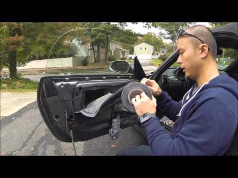 Car Door Sound Deadening for Under $20! - BMW Z4 Vlog #20