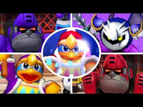 Kirby Battle Royale - All Bosses & Ending