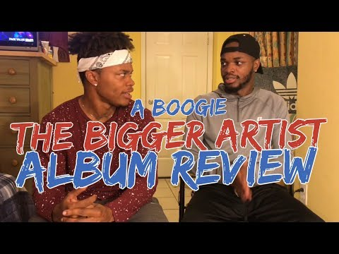 The Bigger Artist - A Boogie Wit da Hoodie - ALBUM REVIEW/REACTION !! Mp3