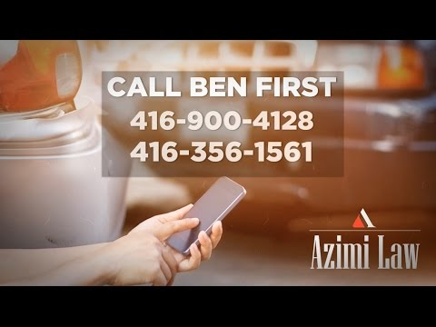 Welcome to Azimi Law & Call Ben First