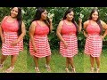 Plus Size Spring Outfit Of The Day • Coral Stripe Dress