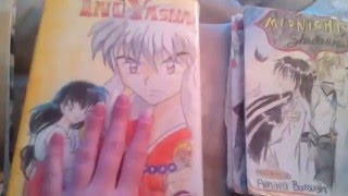 Some of my drawings and hand made manga books:)📖