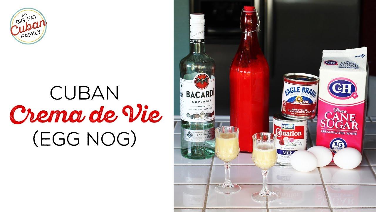 How To Make Cuban Crema de Vie - My Big Fat Cuban Family ...