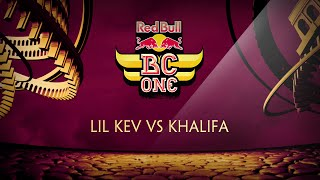 Lil Kev vs Khalifa - 1/4 Final - Red Bull BC One France Cypher 2015 by OckeFilms