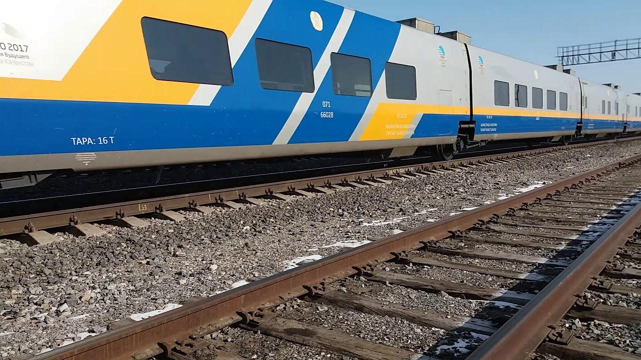 Поезд тальго в казахстане фото