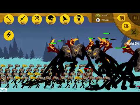 Stick War Legacy HD Apk - Hacked : Unlimited Gemes # Endlles Zombies Mod 2018