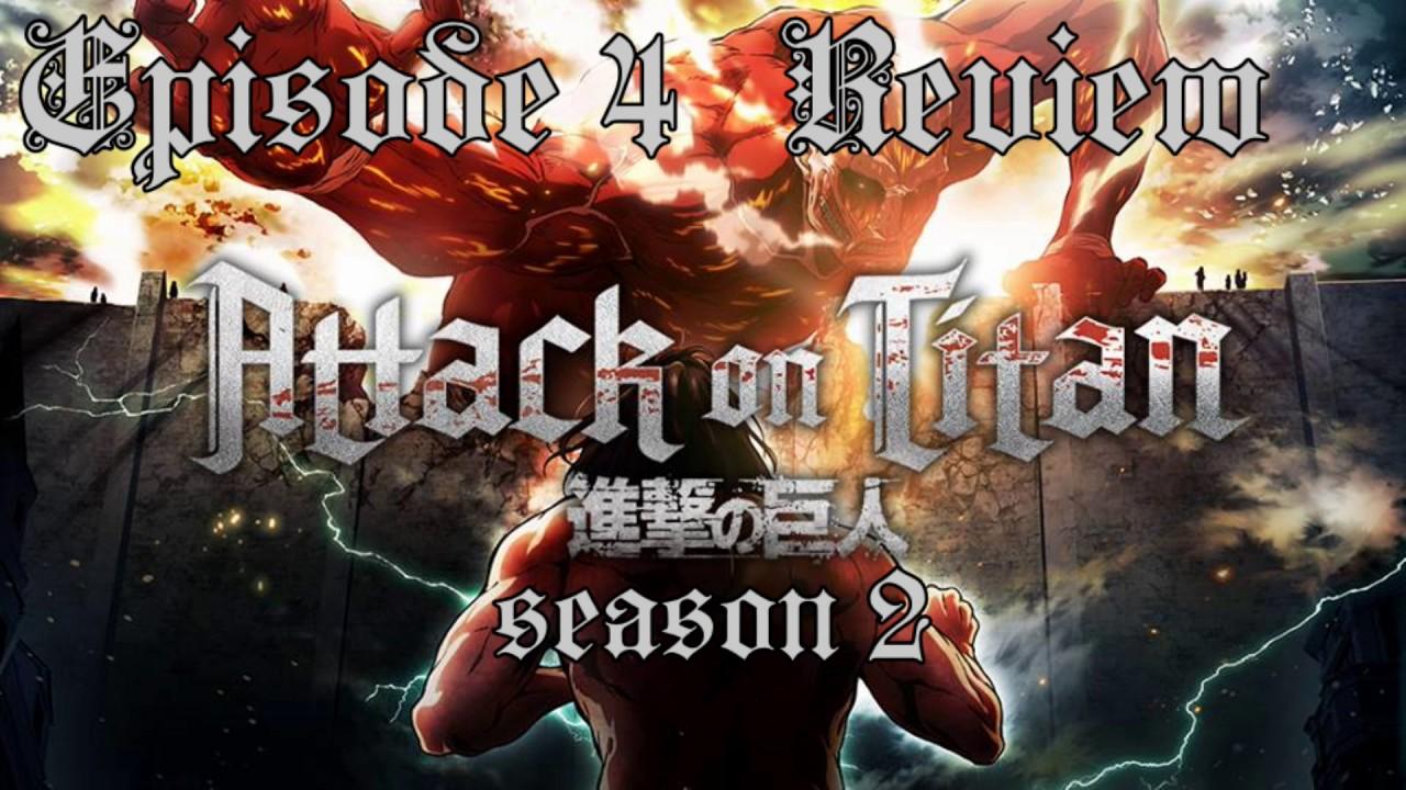 Attack on Titan Season 2 Episode 4 English Dub Review ...