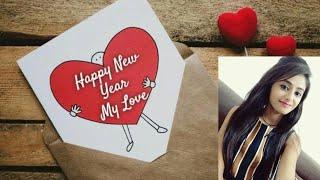 I Love you my Dear status Happy New year 2020 whatsapp status New year greeting card status
