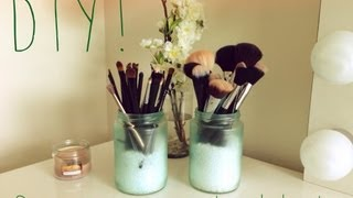 Diy: Sea Glass Jars!