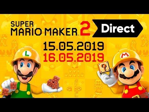 🔴SUPER MARIO MAKER 2 DIRECT 16.05.2019 ¡Reacción y Opinión! | DIRECTO en ESPAÑOL