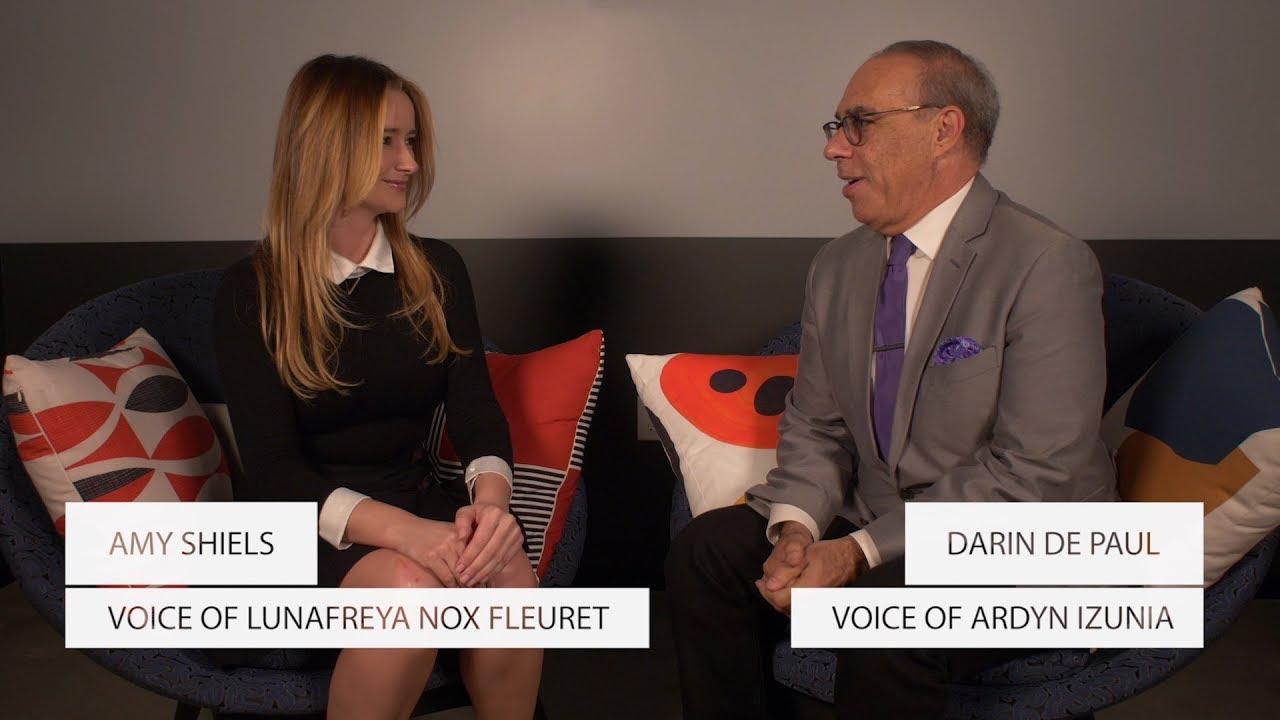 FINAL FANTASY XV | Darin DePaul \u0026 Amy Shiels Interview