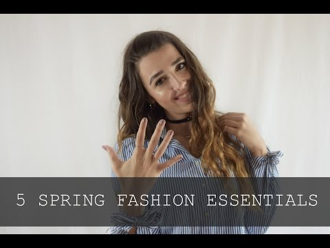 5 Ανοιξιάτικα fashion essentials  | GUIDES
