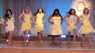 Halo and Walking on Sunshine- (Glee Version)