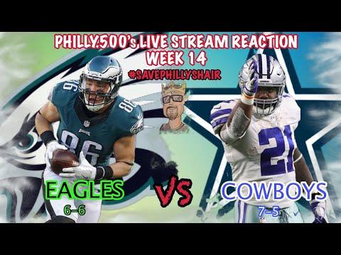Eagles VS Cowboys Live Reaction!!! Battle In Big D...#SavePhillysHair