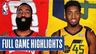 ROCKETS at JAZZ | FULL GAME HIGHLIGHTS | February 22, 2020