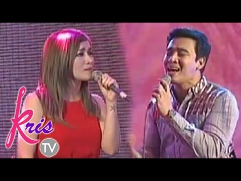 "Erik and Angeline sing ""Forever"" on Kris TV"