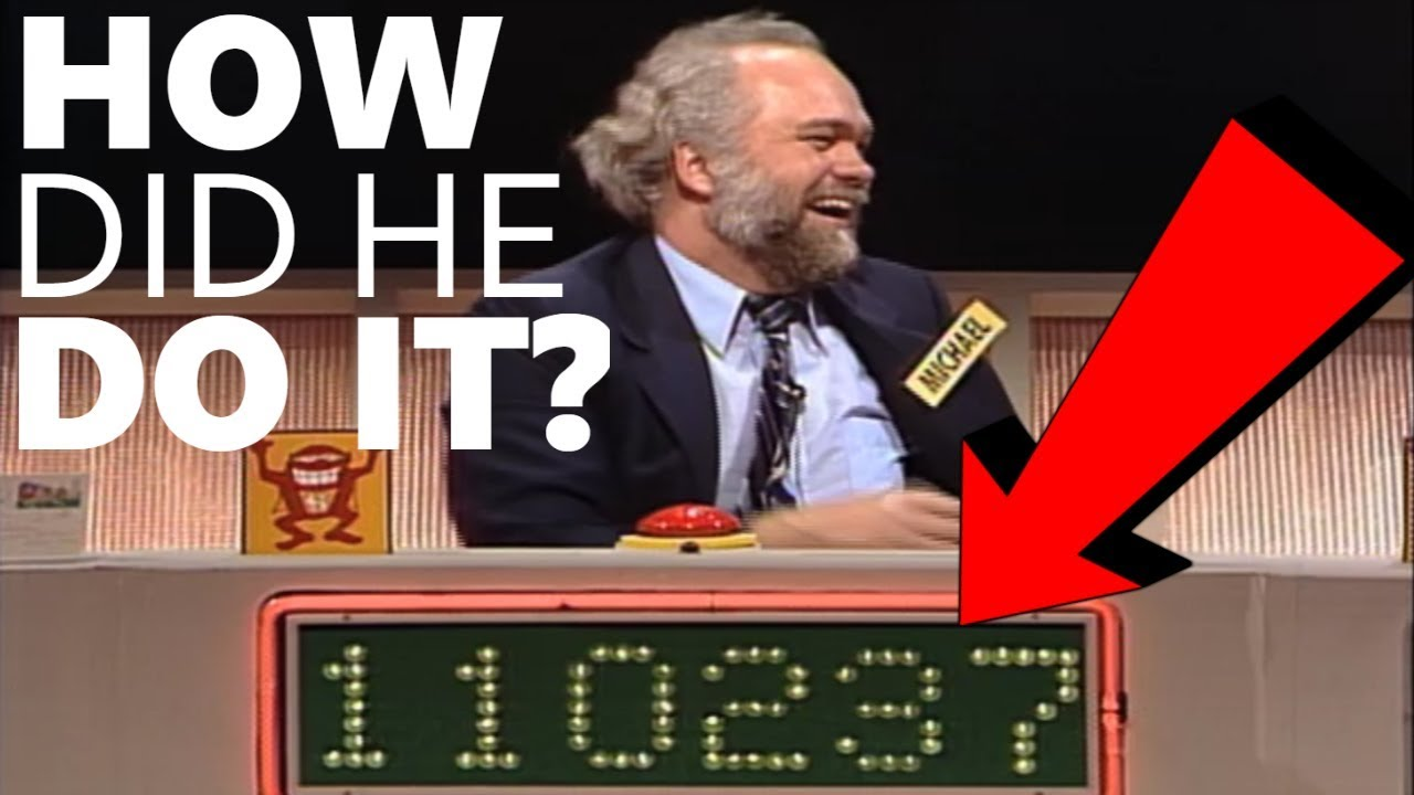 HOW TO CHEAT AT A GAMESHOW (AND GET AWAY WITH IT)