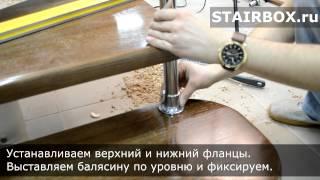 видео Хромированные трубы для перил и лестниц, поручни и ограждения