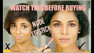 How to FIND and WEAR NUDE LIPSTICK/ GIVEAWAY/ 2018💋