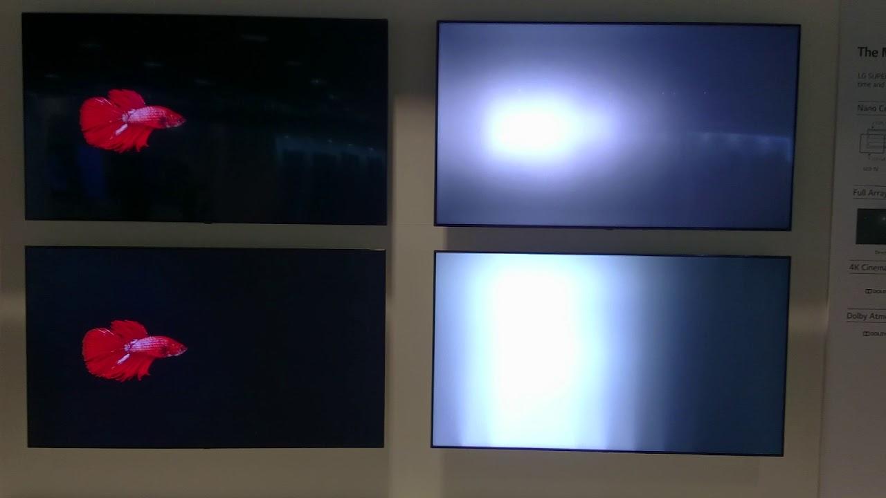 Full Array Local Dimming vs Edge LED Dimming, demo 2