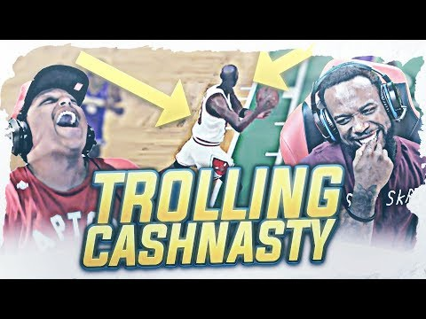 PRANKING CASH NASTY AND BLAMING HIM FOR THE LOSS! HILARIOUS REACTION!