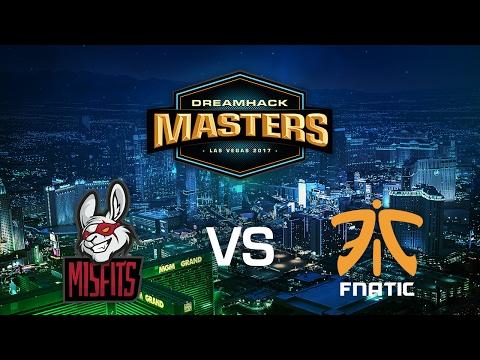 Misfits vs. Fnatic - Mirage - Group B - DreamHack Masters Las Vegas 2017