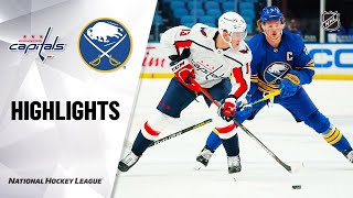 NHL Highlights | Capitals @ Sabres 1/14/21